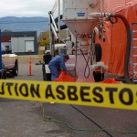 Caution Asbestos Removal