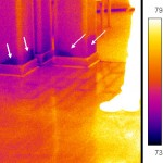 infrared floor for moisture