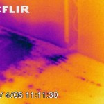infrared photo floor and wall