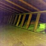 asbestos attic