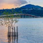 rising lake waters